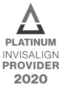 Platinum Invisalign Provider 2020 logo