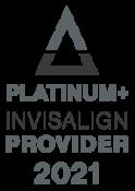Omar Orthodontics - Platinum Invisalign Provider 2021 logo